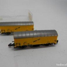 Trenes Escala: LOTE VAGONES CERRADOS ESCALA Z DE MARKLIN . Lote 133355422