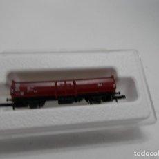 Trenes Escala: VAGÓN BORDE ALTO ESCALA Z DE MARKLIN . Lote 133355722
