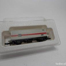 Trenes Escala: VAGÓN PORTACONTENEDOR ESCALA Z DE MARKLIN . Lote 133355754