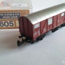Trenes Escala: MARKLIN ESCALA Z ,VAGÓN DE CARGA. EN CAJA. Lote 139494202