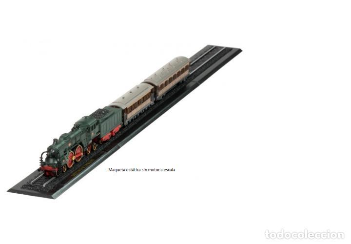ORIENT EXPRESS 1906 DE METAL CON DETALLES EN PLÁSTICO ESCALA Z (Juguetes - Trenes a Escala Z)