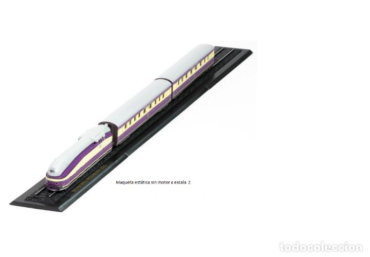 HENSCHEL-WEGMANN-ZUG DE METAL CON DETALLES EN PLÁSTICO ESCALA Z (Juguetes - Trenes a Escala Z)
