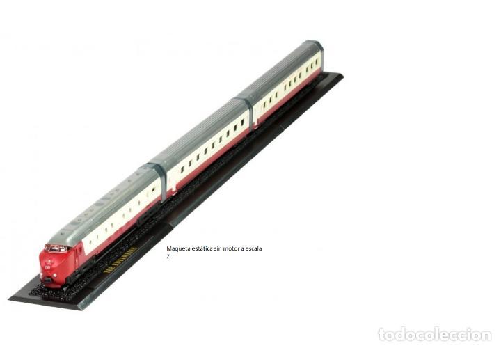 TEE EDELWEISS DE METAL CON DETALLES EN PLÁSTICO ESCALA Z (Juguetes - Trenes a Escala Z)