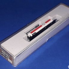 Trenes Escala: VAGÓN CISTERNA ESSO REF. 8626, ESC. Z, MÄRKLIN MINI-CLUB MADE IN GERMANY, ORIGINAL AÑOS 70-80.. Lote 158332786
