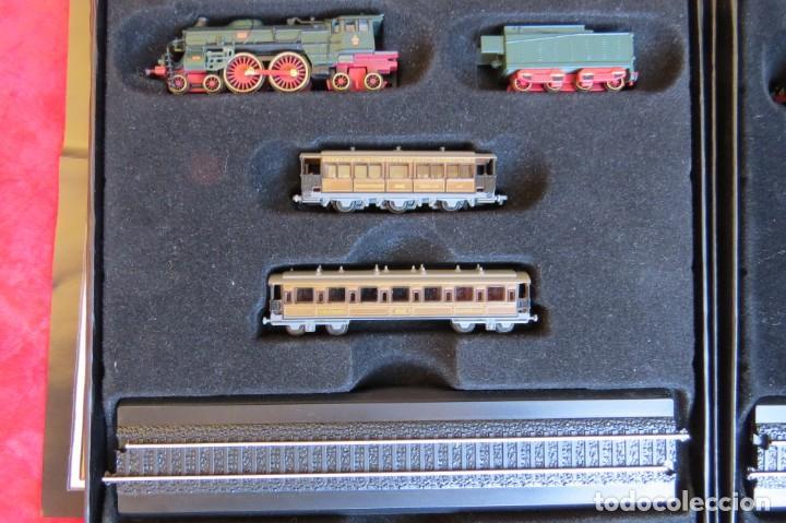 Trenes Escala: LOTE 4 TRENES MINITRAINS 1/220 - EDITIONS ATLAS - Foto 3 - 159759326