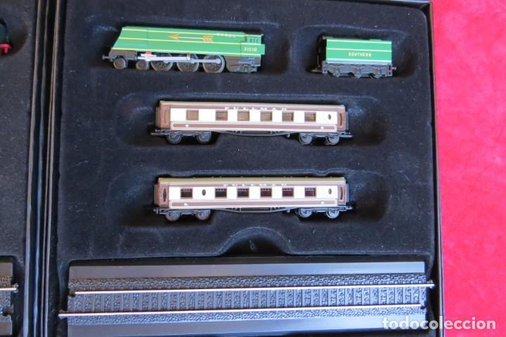 Trenes Escala: LOTE 4 TRENES MINITRAINS 1/220 - EDITIONS ATLAS - Foto 4 - 159759326