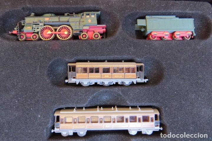 Trenes Escala: LOTE 4 TRENES MINITRAINS 1/220 - EDITIONS ATLAS - Foto 9 - 159759326