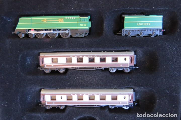 Trenes Escala: LOTE 4 TRENES MINITRAINS 1/220 - EDITIONS ATLAS - Foto 20 - 159759326