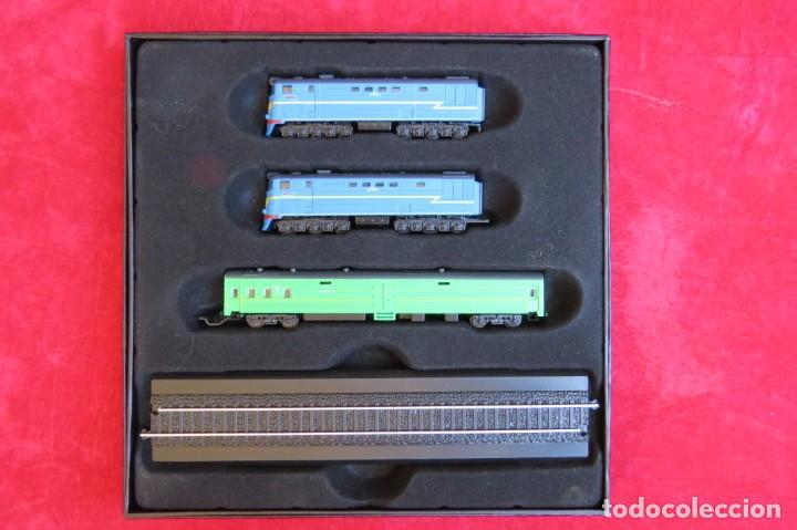 Trenes Escala: LOTE 4 TRENES MINITRAINS 1/220 - EDITIONS ATLAS - Foto 21 - 159759326