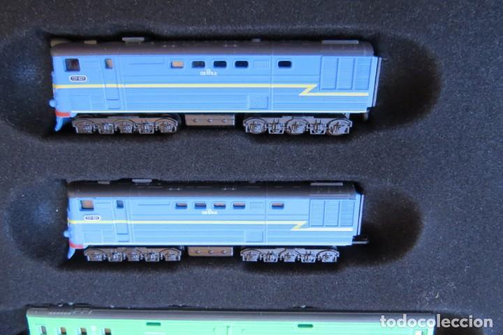 Trenes Escala: LOTE 4 TRENES MINITRAINS 1/220 - EDITIONS ATLAS - Foto 22 - 159759326