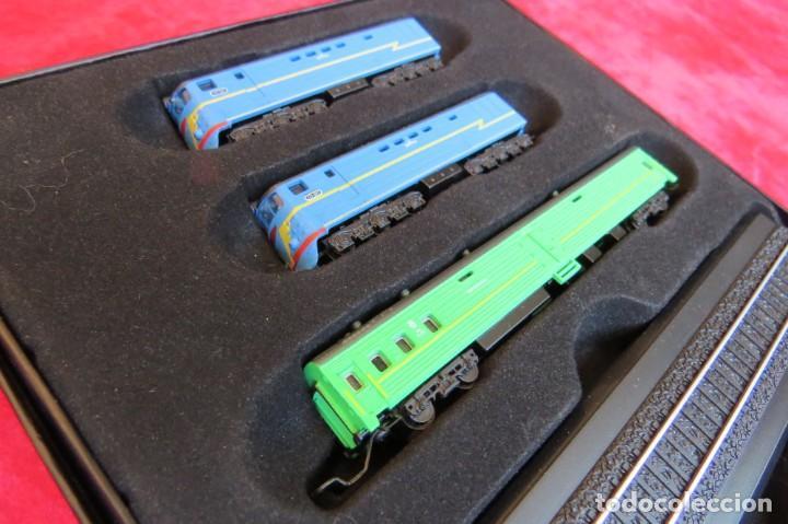 Trenes Escala: LOTE 4 TRENES MINITRAINS 1/220 - EDITIONS ATLAS - Foto 24 - 159759326