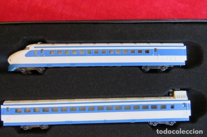 Trenes Escala: LOTE 4 TRENES MINITRAINS 1/220 - EDITIONS ATLAS - Foto 26 - 159759326