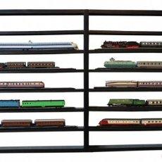 Trenes Escala: LOTE 10 UNIDADES 1:220 FERROCARRIL LOCOMOTORA VAGONES ESCALA Z ATLAS. Lote 182638456