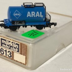 Trenes Escala: MARKLIN VAGÓN DE MERCANCÍAS 'CISTERNA ARAL 2 EJES', REFERENCIA 8613 ESCALA Z. Lote 168638420