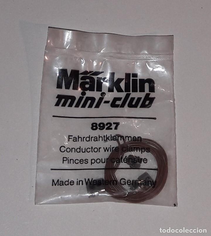 MARKLIN MINI-CLUB BOLSA ABRAZADERAS DE CATENARIA REFERENCIA 8927 (Juguetes - Trenes a Escala Z)