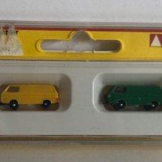 Trenes Escala: NOCH SET DE COCHES VW-TRANSPORTER, REFERENCIA 4732 ESCALA Z. Lote 168866680