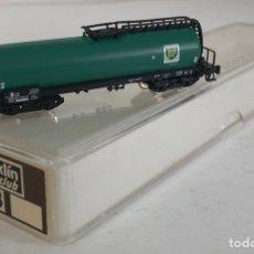 Trenes Escala: MARKLIN VAGÓN DE MERCANCÍAS 'CISTERNA BP 4 EJES', REFERENCIA 8628 ESCALA Z. Lote 168960288