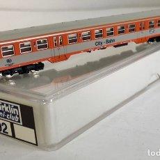 Trenes Escala: MARKLIN VAGÓN DE PASAJEROS '2ª CITY-BAHN', REFERENCIA 8702 ESCALA Z. Lote 168961892
