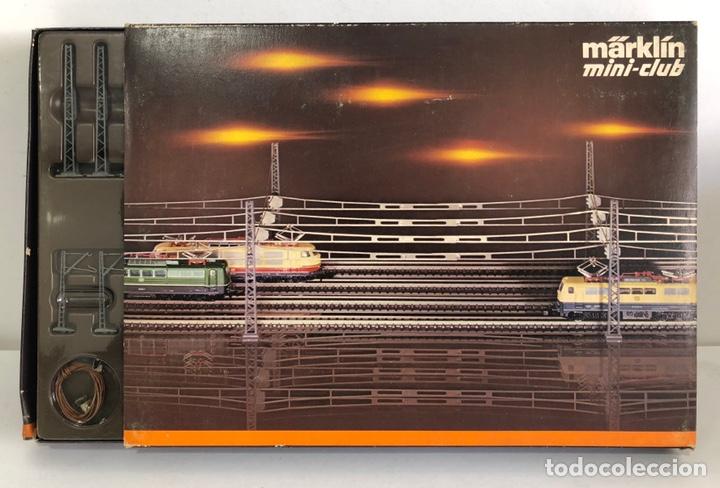 MARKLIN LOTE CATENARIA T1+T2+T3, REFERENCIA 8199 ESCALA Z (Juguetes - Trenes a Escala Z)