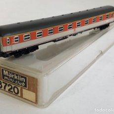 Trenes Escala: MARKLIN VAGÓN DE PASAJEROS 'COCHE 1ª NARANJA/BEIGE DB TREN EXPRESO', REFERENCIA 8720 ESCALA Z. Lote 169051884