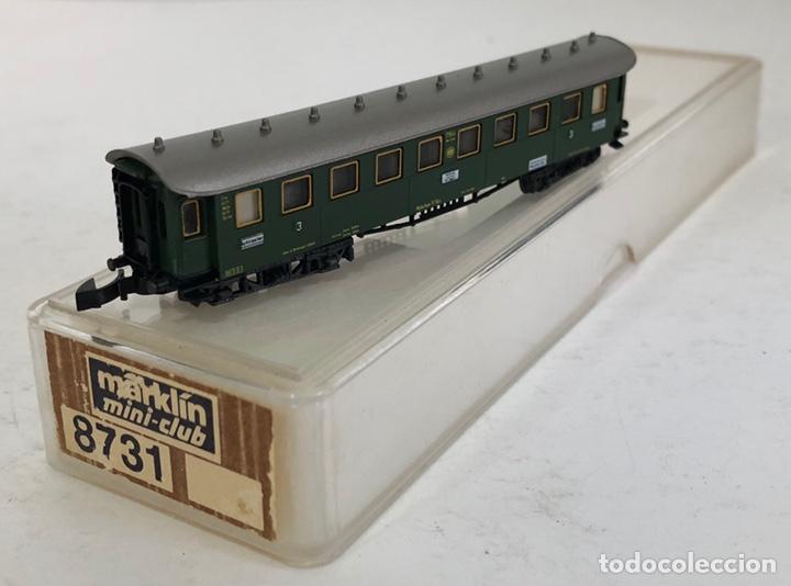 Trenes Escala: MARKLIN VAGÓN DE PASAJEROS COCHE 3ª TREN EXPRESO, REFERENCIA 8731 ESCALA Z - Foto 2 - 169052900