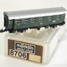 Trenes Escala: MARKLIN VAGÓN DE PASAJEROS 'COCHE 1ª Y 2ª DB 3 EJES', REFERENCIA 8706 ESCALA Z. Lote 183857886