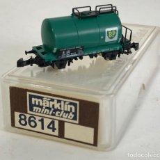Trenes Escala: MARKLIN VAGÓN DE MERCANCÍAS 'CISTERNA BP 2 EJES', REFERENCIA 8614 ESCALA Z. Lote 169053620