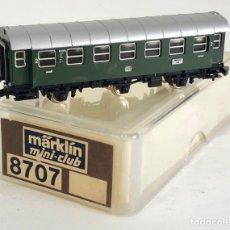 Trenes Escala: MARKLIN VAGÓN DE PASAJEROS 'COCHE 2ª DB 3 EJES', REFERENCIA 8707 ESCALA Z. Lote 183857856