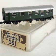 Trenes Escala: MARKLIN VAGÓN DE PASAJEROS 'COCHE 1ª Y 2ª DB 3 EJES', REFERENCIA 8706 ESCALA Z. Lote 169072944