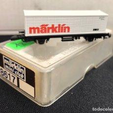 Trenes Escala: MARKLIN VAGÓN DE MERCANCÍAS, REFERENCIA 8617 ESCALA Z. Lote 169926736