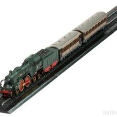Trenes Escala: ORIENT EXPRESS 1:220 FERROCARRIL LOCOMOTORA VAGONES ESCALA Z ATLAS 7165101. Lote 218400877