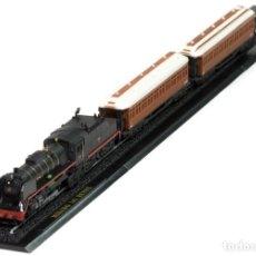 Trenes Escala: RENFE MIKADO 141 1:220 FERROCARRIL LOCOMOTORA VAGONES ESCALA Z ATLAS 7165110. Lote 182639415