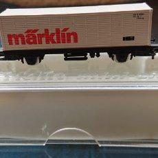 Trenes Escala: VAGÓN MARKLIN, ORIGINAL, EN CAJA, ESCALA Z. Lote 171987239