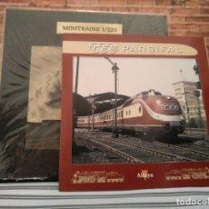 Trenes Escala: MINITRAINS TEE PARSIFAL, NUEVO, ALTAYA, ESCALA 1/220. Lote 174031075