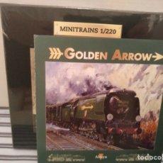 Trenes Escala: MINITRAINS, GOLDEN ARROW, ALTAYA, NUEVO, ESCALA 1/220. Lote 174032207