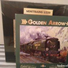 Trenes Escala: MINITRAINS, GOLDEN ARROW, ALTAYA, NUEVO, ESCALA 1/220. Lote 174032903
