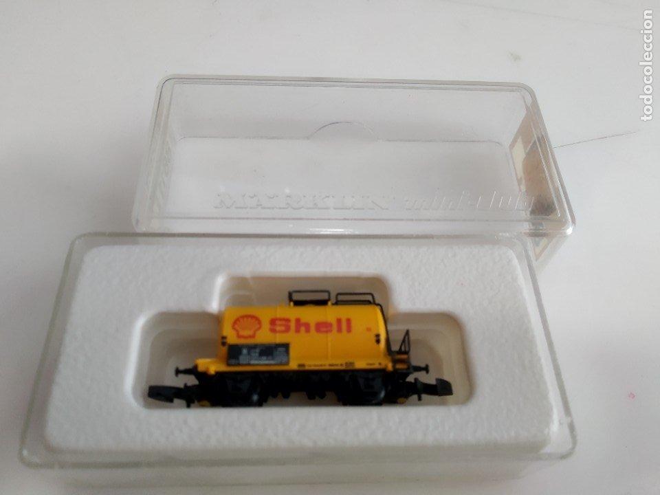 Trenes Escala: ANTIGUO VAGON MARKLIN ESCALA Z 8611 - Foto 3 - 232091785