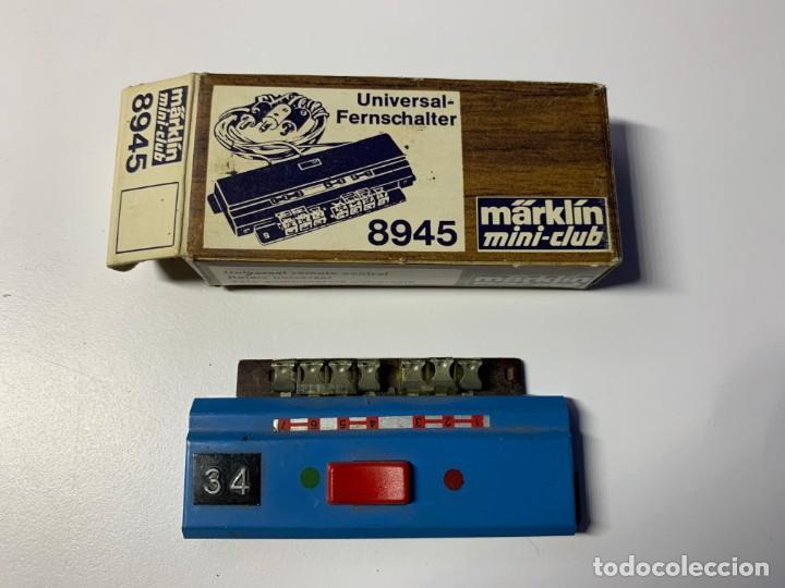 Trenes Escala: Lote de vias e interruptores Marklin Z - Foto 4 - 191365817