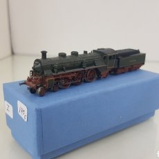 Trenes Escala: LOCOMOTORA DE VAPOR MARKLIN MINI CLUB 3644 VERDE ESCALA Z. Lote 191481800