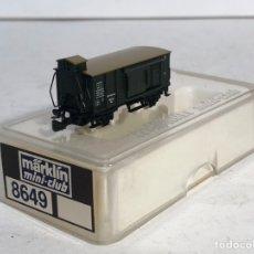 Comboios Escala: MARKLIN MINI CLUB VAGÓN MERCANCÍAS VAGÓN CERRADO GARITA PUERTAS CORREDERAS 8649 ESCALA Z. NUEVO. Lote 194154943