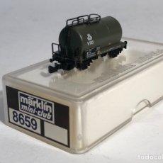 Trenes Escala: MARKLIN MINI CLUB VAGÓN MERCANCÍAS VAGÓN CISTERNA VTG 2 EJES 8659 ESCLA Z. NUEVO. Lote 194155513