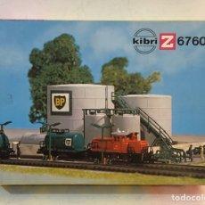 Trenes Escala: KIBRI CONSTRUCCIÓN DEPÓSITOS BP ESCALA Z REFERENCIA 6760, NUEVO. Lote 195105692