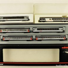 Trenes Escala: MARKLIN Z MINI CLUB SET 87662 + 87661 + 87471 (CONJUNTO DE 6 COCHES DE PASAJEROS). Lote 195233787