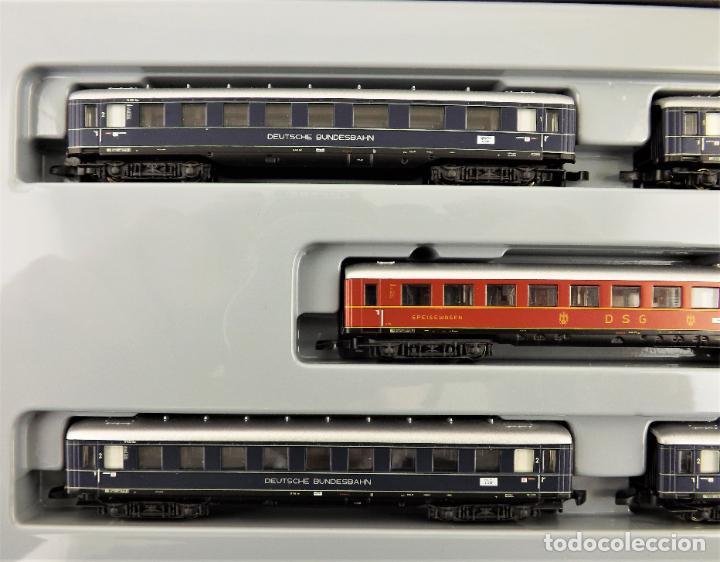 Trenes Escala: Marklin Z mini club 87351 Conjunto de 5 coches de pasajeros) - Foto 2 - 195234178