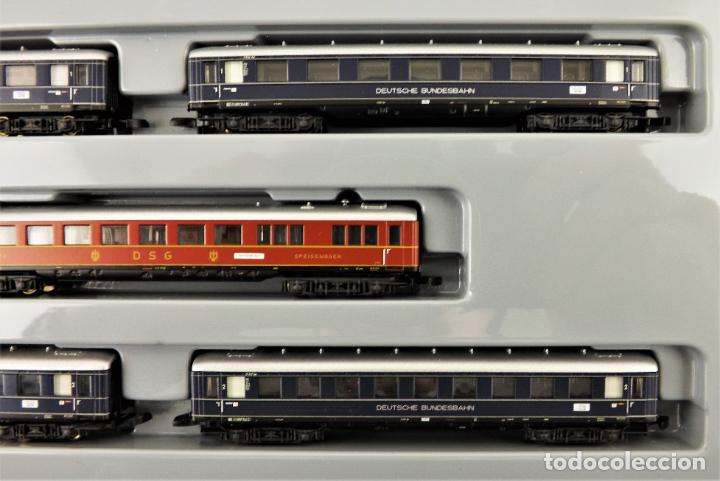 Trenes Escala: Marklin Z mini club 87351 Conjunto de 5 coches de pasajeros) - Foto 3 - 195234178