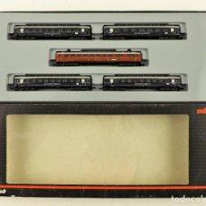 Trenes Escala: MARKLIN Z MINI CLUB 87351 CONJUNTO DE 5 COCHES DE PASAJEROS). Lote 195234178
