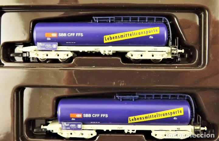 Trenes Escala: Marklin Z mini club 82203 Conjunto de 2 vagones cisterna - Foto 2 - 195234311