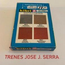 Trenes Escala: KIBRI. Z. 17 PLANCHAS 6921 DE 15 X 10CM. Lote 198039820