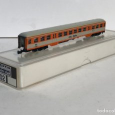 Trenes Escala: MARKLIN VAGÓN DE PASAJEROS COCHE 2ª CITY-BAHN, REFERENCIA 8702 ESCALA Z. Lote 199524288
