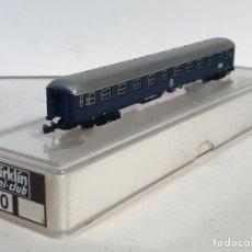 Trenes Escala: MARKLIN VAGÓN DE PASAJEROS COCHE 1ªAZUL DB TREN EXPRESO, REFERENCIA 8710 ESCALA Z. Lote 199524401